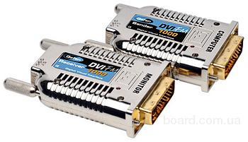 EXT-DVI-FM1000 Компактный удлинитель линий DVI по оптоволокну на расстояния до 1000 м