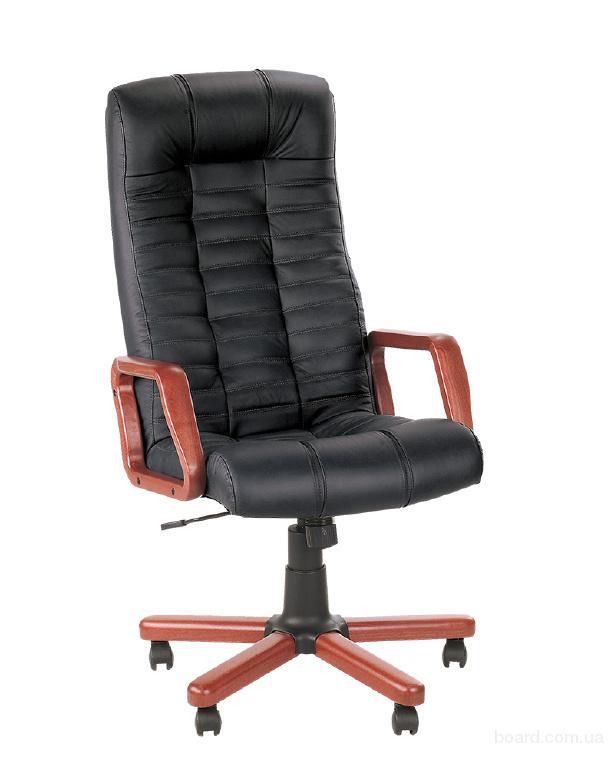 Кресло с инкрустацией деревом Atlant Extra