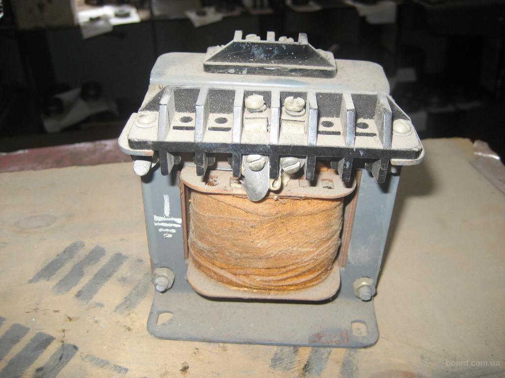 Трансформатор понижающий ТБС-101, 380/110 В. 8 штук, новые, складского хранения
