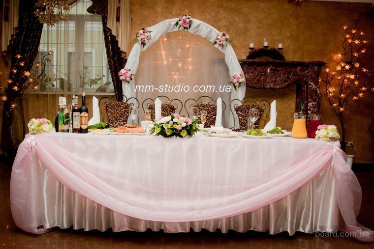 Свадебное оформление зала флористика