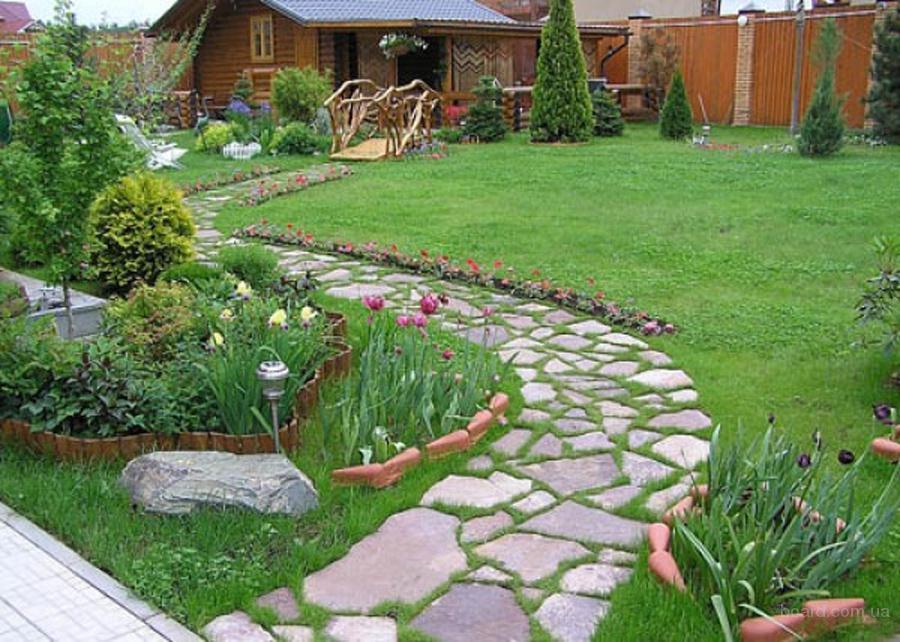 Фото дорожка в саду