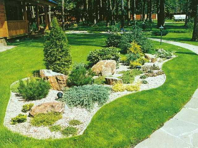 Дизайн наш сад предлагаю