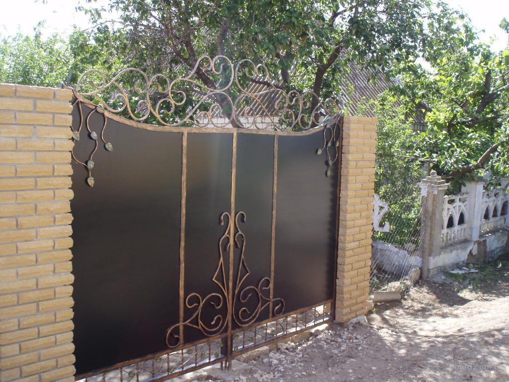 Ворота с профиля купить николаев фундамент для ворот в приозерском