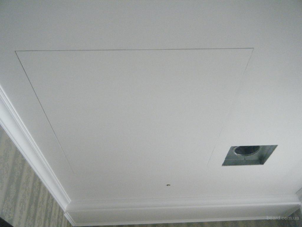 потолочные люки невидимки под покраску