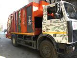Водитель на мусоровоз