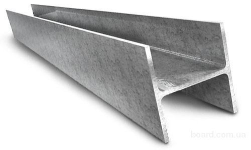 Балки стальные, Балки стальныe ГОСТ 8239-89, балки с уклоном внутренних граней 10, 12, 14, 16, 8, 20, 22, 24, 27, 30, 36, 45, 50