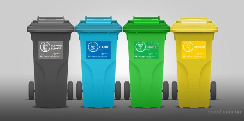 Установка  контейнерных систем для раздельного сбора отходов.