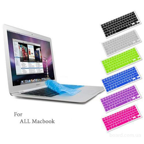 Силиконовый чехол на клавиатуру McBook