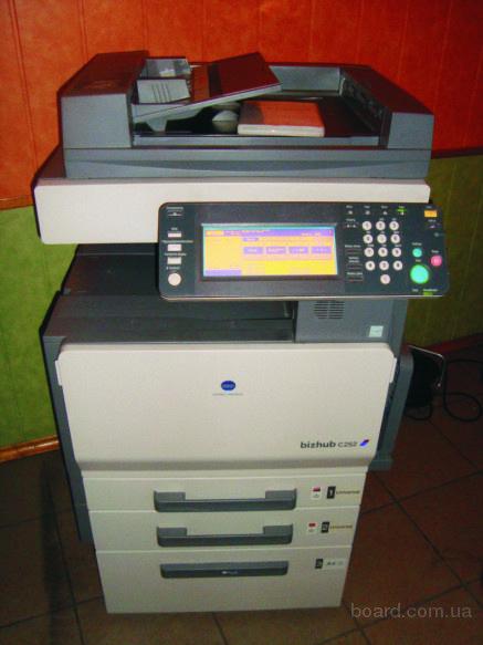 Продам цветной копир Konica Minolta Bizhub C252 (копир-принтер-сканер)