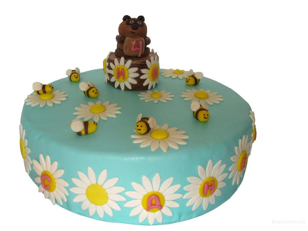 Детские торты под заказ продам в киев