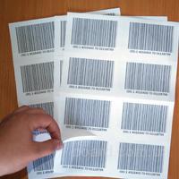 Як надрукувати етикетки на офісному принтері