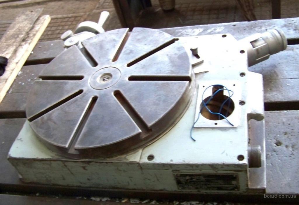 Стол координатный круглый поворотный синусный (глобусный) модель 7400-0265, высокой точности (Каунас), 1989г.в.