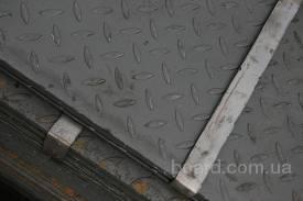 Лист рифлёный 4; 5; 6 мм (1,25х6)