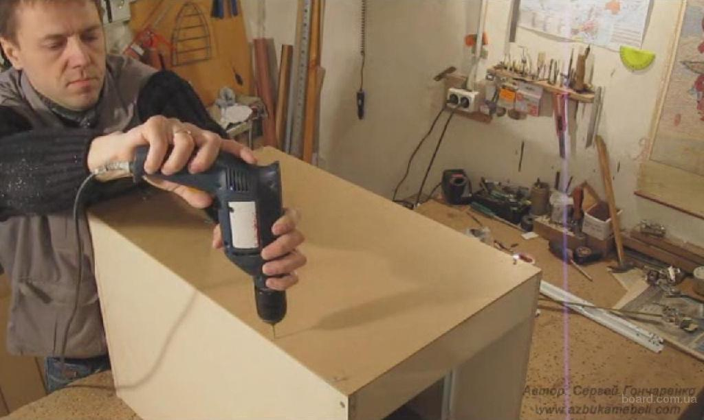 Корпусная мебель своими руками видеоуроки 59