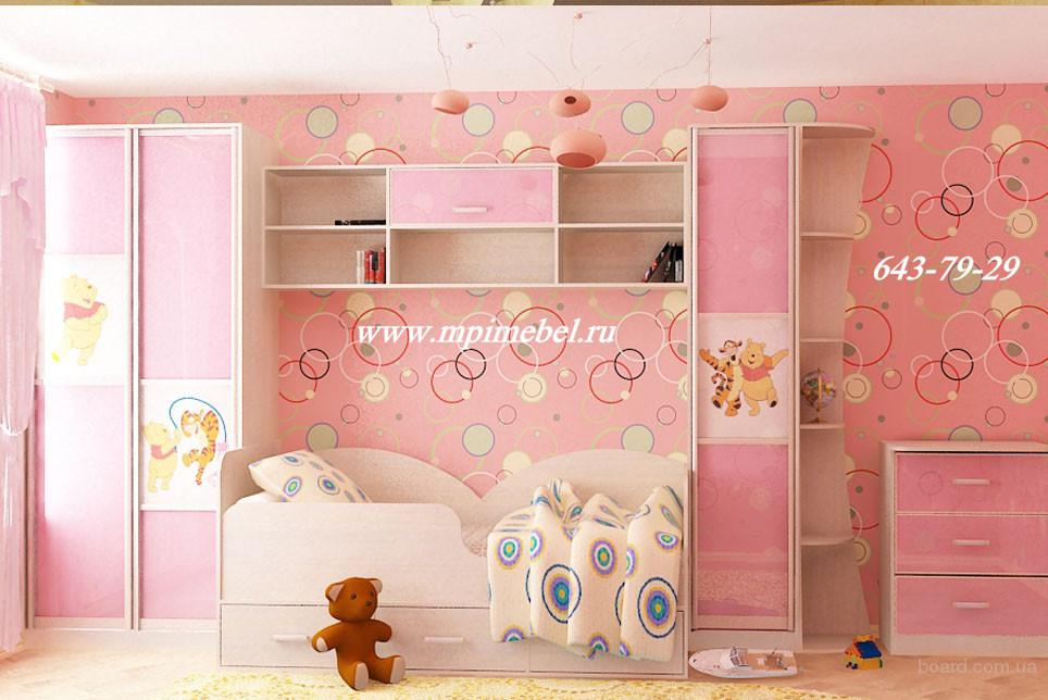 Детские комнаты детская мебель