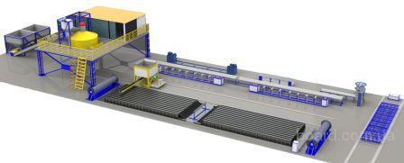 Завод по изготовлению железобетонных опор СВ-95, СВ-110.  Технологический процесс производства ж/б опор включает...