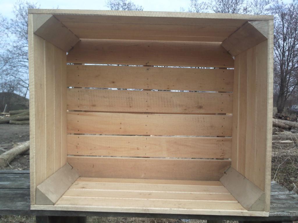 Ящики деревянные для хранения овощей