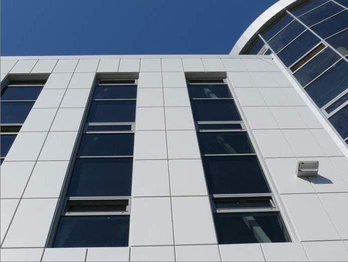 Алюминиевые композитные панели INTERBOND.
