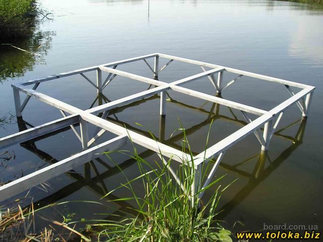 строительство рыболовных мостиков