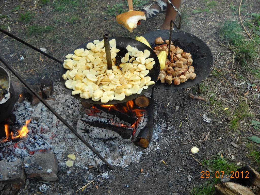 Сковорода для пикника самодельная с диска (новая) в Киеве - изображение 5.