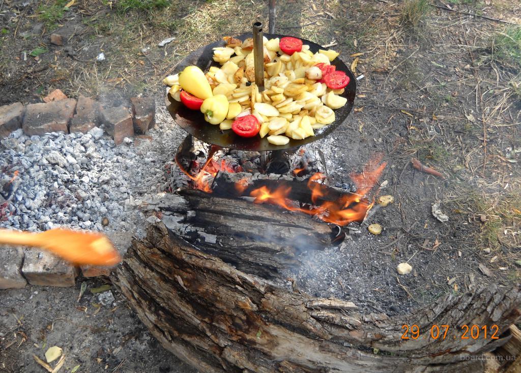 Сковорода для пикника самодельная с диска (новая) в Киеве - изображение 6.