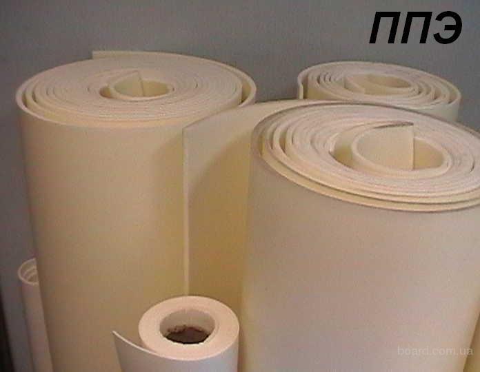 Изолон ППЭ- физически сшитый Плотность от 25 кг/м3 до 200 кг/м3 Разная цветовая гамма...