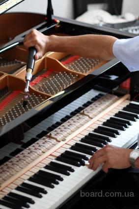 Проффесcиональная настройка пианино и роялей.