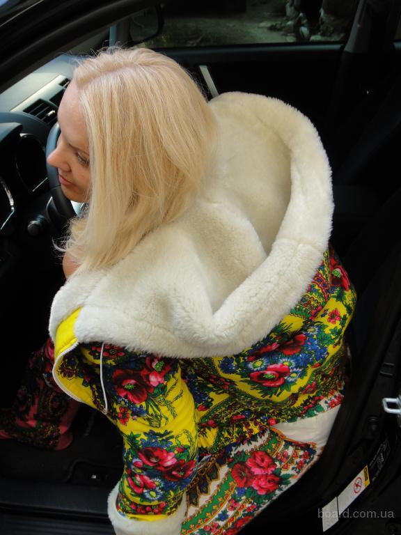 Шубка-курточка в стиле Матрешка
