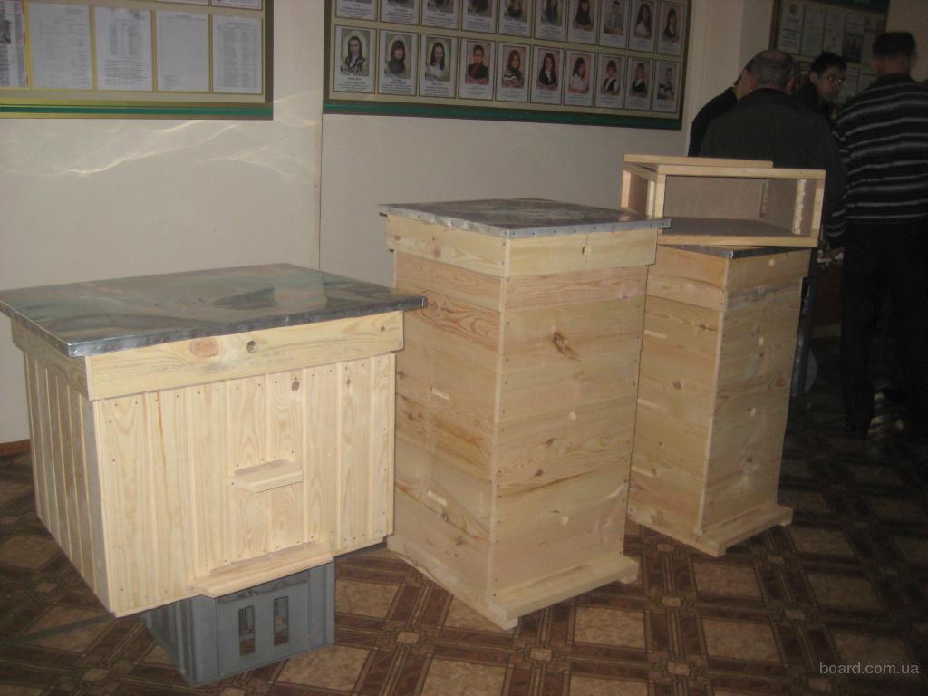 Ульи12 рамочные, ульи 16 рамочные, ящики для пчелопакетов - 1.