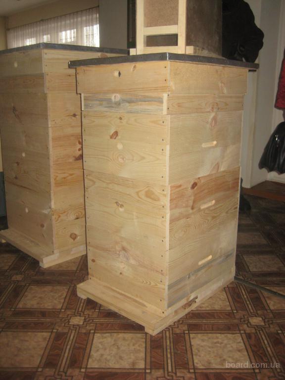 Ульи 12 рамочные 2 корпусные, ульи 16 рамочные ящики для пчелопакетов.