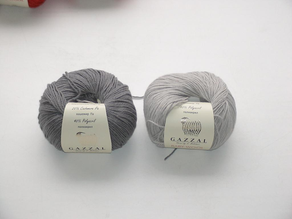 пряжа для вязания gazzal baby wool