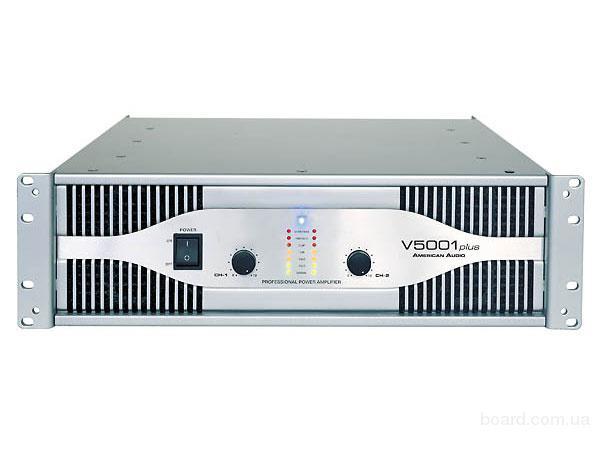 Усилитель мощности American Audio V-6001plus  Усилители  Аудио, видео, теле техника.