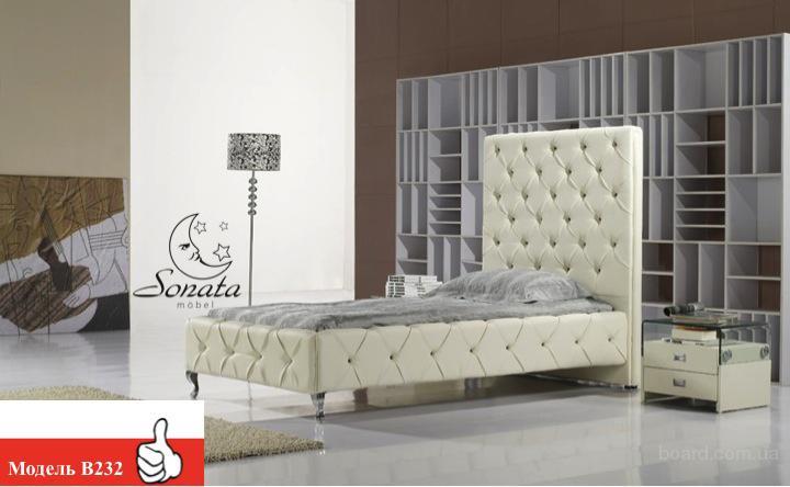 Модные кровати от немецкого производителя. Модная кровать в стиле хай-тек, техно, минимализм.