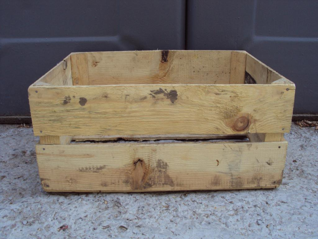 Из деревянных ящиков из под фруктов своими руками