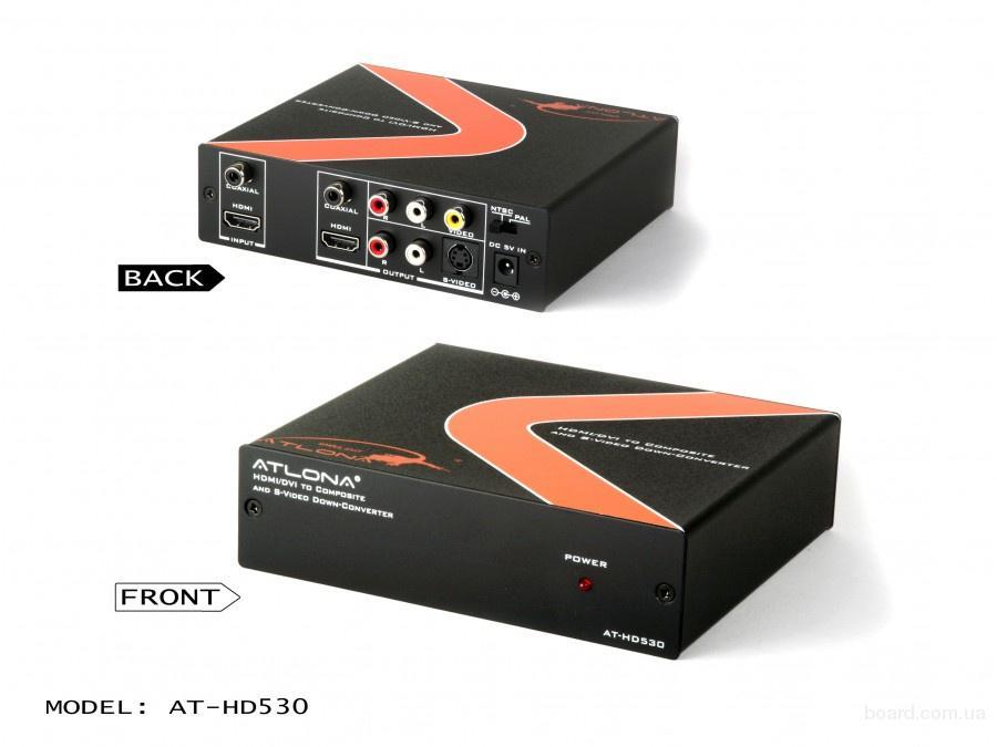 ATLONA AT-HD530 Atlona конвертер из HDMI/DVI в композит и S-Video