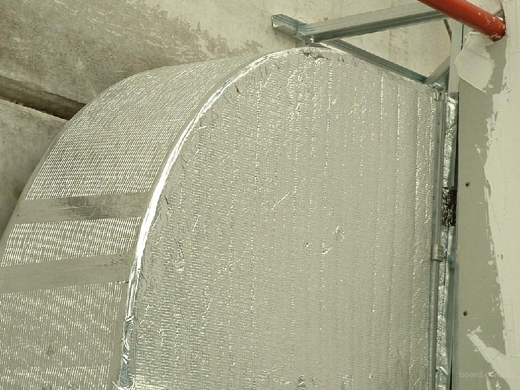 скотч алюминиевый изолон 50 м x 100 мм купить