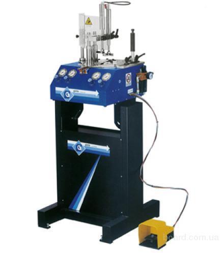 скобосшивочний станок для багета Gielle 4000e пневматический, зшивки рам, оборудование для зшивки рам