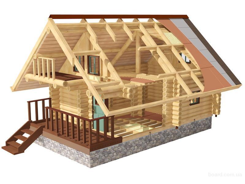 И строительство деревянных домов