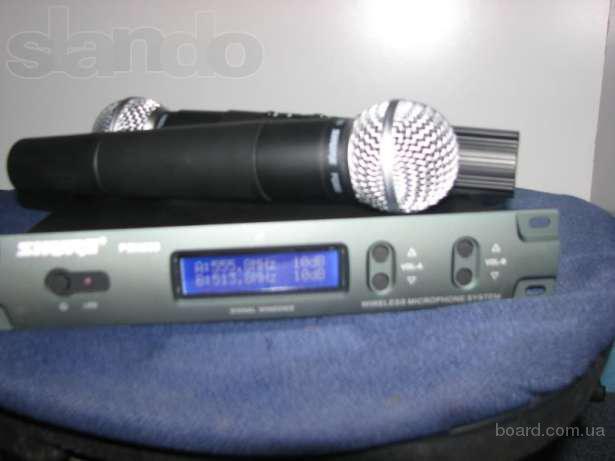 Радиомикрофоны Shure PGX/PG600 + 2 микрофона PG57
