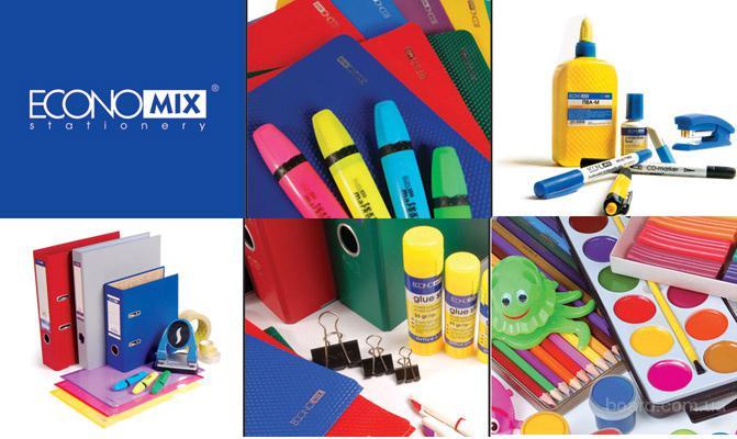 Канцтовары «Economix» для офиса и школы.