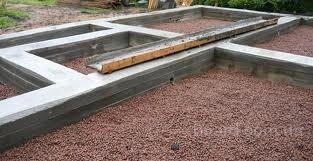 ...тяжелыми стенами (кирпич, блок), при устройстве железобетонных перекрытий, а также цокольных и подвальных помещений.