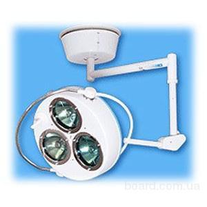 Светильники хирургические стационарные с регулируемым размером рабочего поля СР-5 – «Е-Эма» (3-х реф