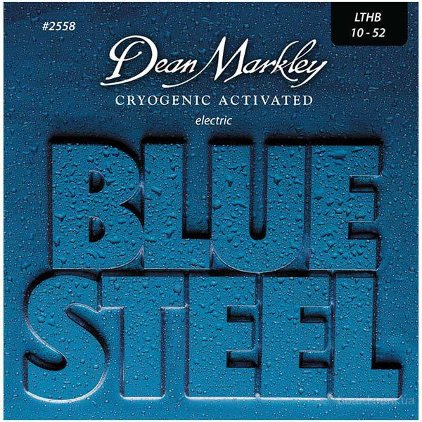 Струны Dean Markley 2558 Blue Steel LTHB 10-52  Вся Украина