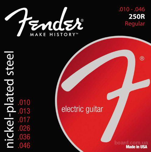 Струны Fender 250R Nickel-Plated Steel 10-46 Regular  Вся Украина