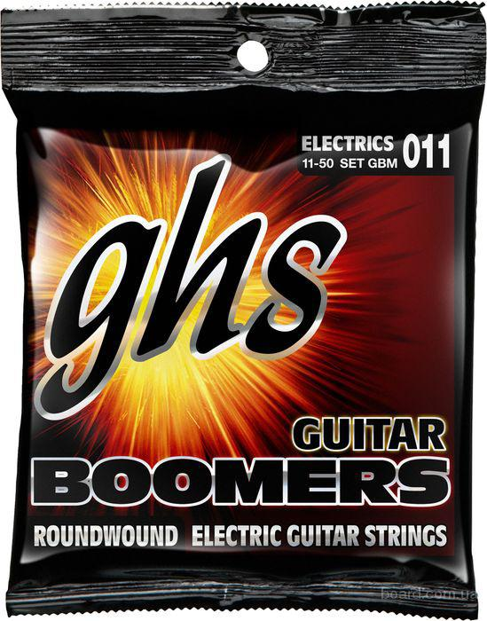 Струны GHS Boomers GBM 11-50 Medium Вся Украина