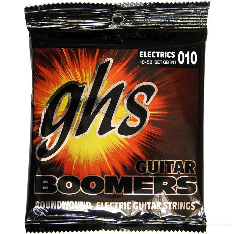 Струны GHS Boomers gbtnt 10-52 Thin/Thick  Вся Украина