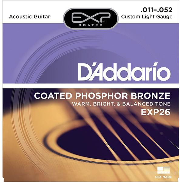 Струны D'Addario EXP26 11-52 Вся Украина