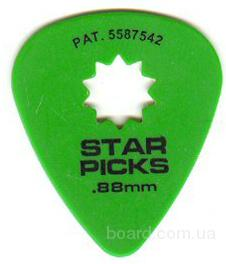 Медиатор Star Picks / Medium / .88mm Вся Украина
