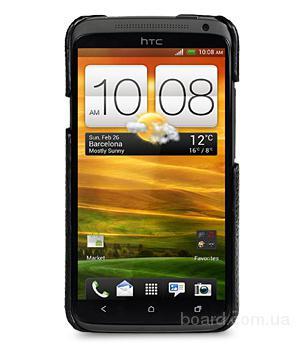 Кожаная накладка Melkco для HTC One X