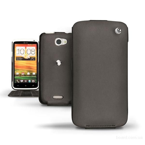 Кожаный чехол Noreve для HTC One X / HTC One XL   (2 цвета)